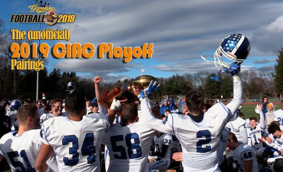 2019 CIAC football playoff pairings are unofficially set. Photo: Sean Patrick Bowley / Hearst Connecticut Media