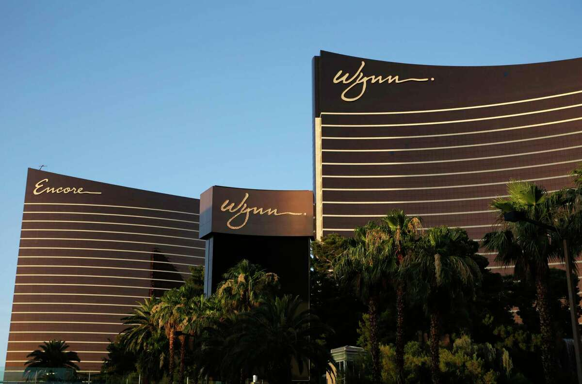 FILE - This June 17, 2014, file photo shows the Wynn Las Vegas and Encore resorts in Las Vegas. Wynn Resorts has agreed to accept $41 million from former CEO and chairman Steve Wynn and insurance carriers as part of a settlement stemming from shareholder lawsuits accusing company directors of failing to disclose the casino mogula€™s alleged pattern of sexual misconduct. The company said in a statement late Wednesday, Nov. 27, 2019, neither the company nor its current or former directors or officers were found to have committed any wrongdoing in connection with the pending settlement. (AP Photo/John Locher, File)