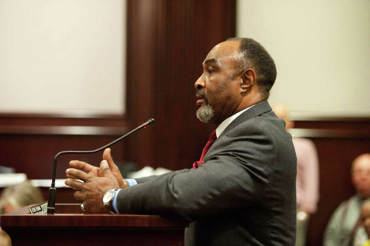Then-Vice Mayor of District Heights, Maryland, Eddie Martin in 2011.