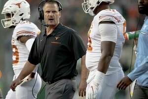 Victimized by injuries and his players' inexperience, Longhorns defensive coordinator Todd Orlando was fired Dec. 1.