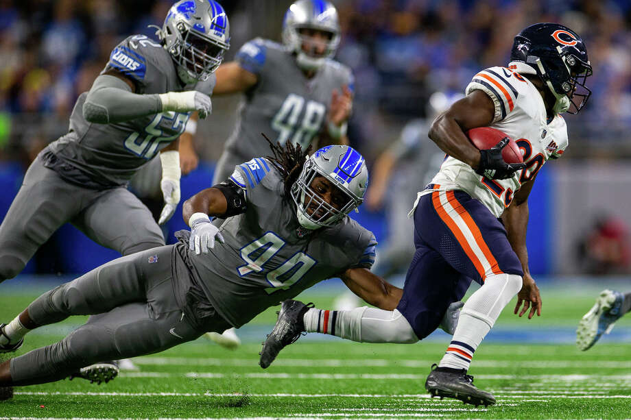 ©Quad N Productions for the Huron Daily Tribune. Chicago Bears at Detroit Lions 11-28-19