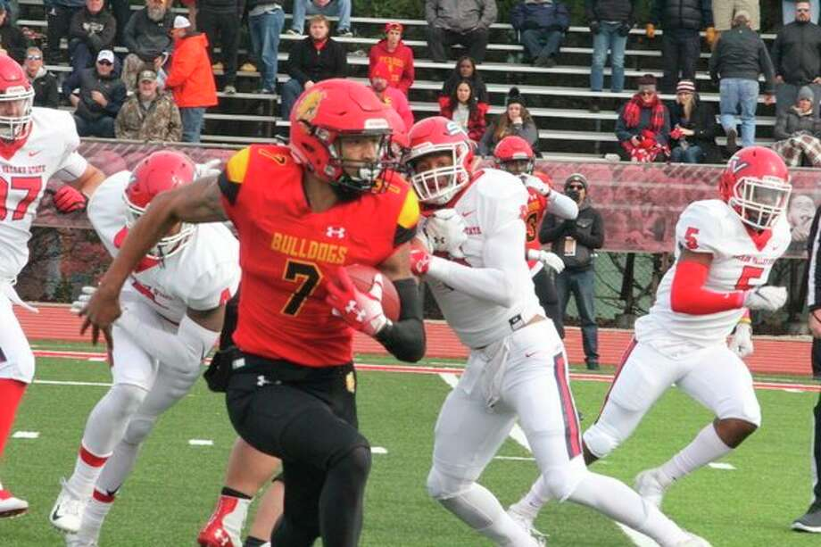 Ferris' Jayru Campbell's season hasended following the news of his ankle surgery earlier this week. (Pioneer file photo)