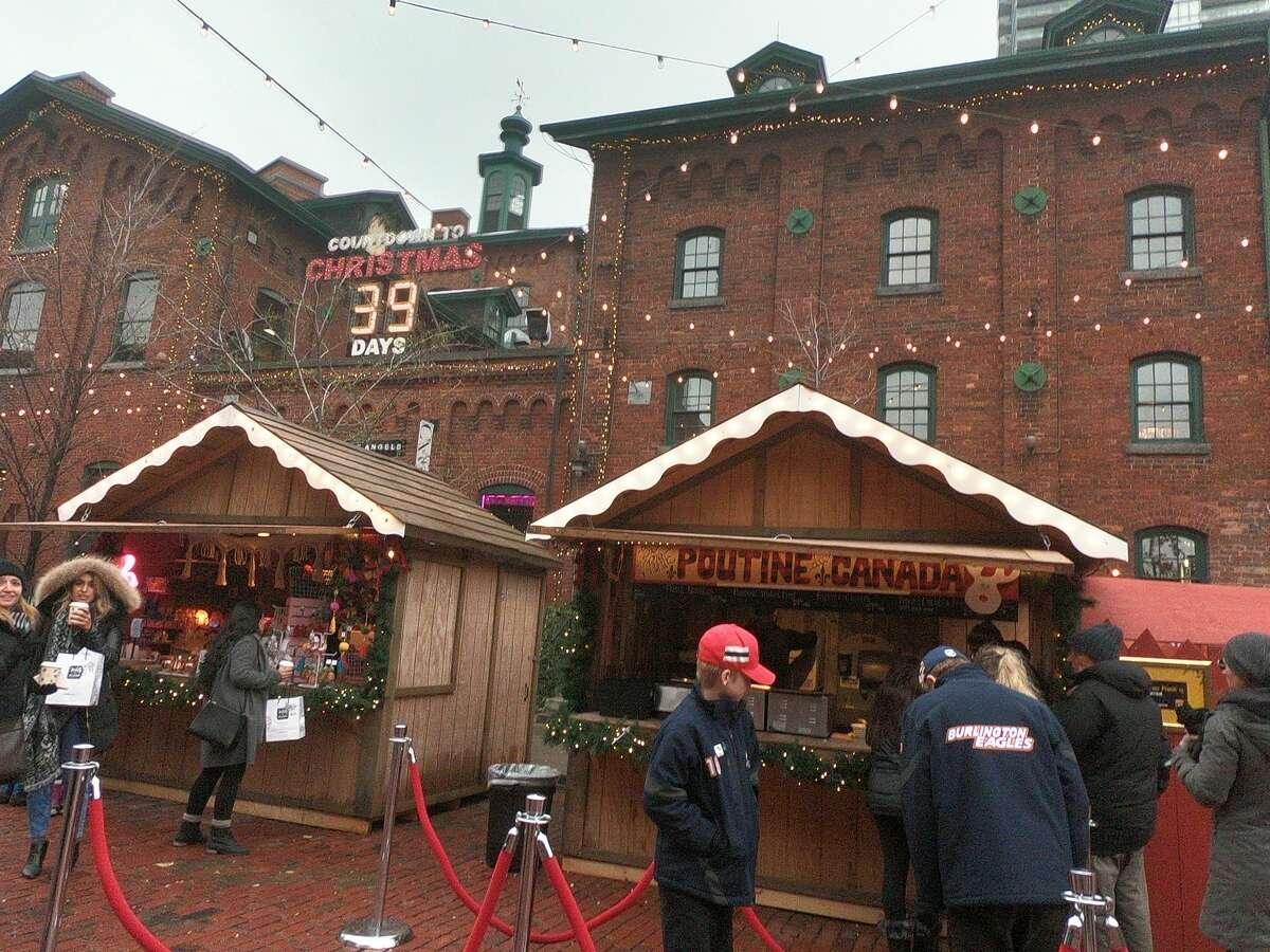 Scenes from the famed Toronto Christmas Market. (Photo by Jessica Kelly)