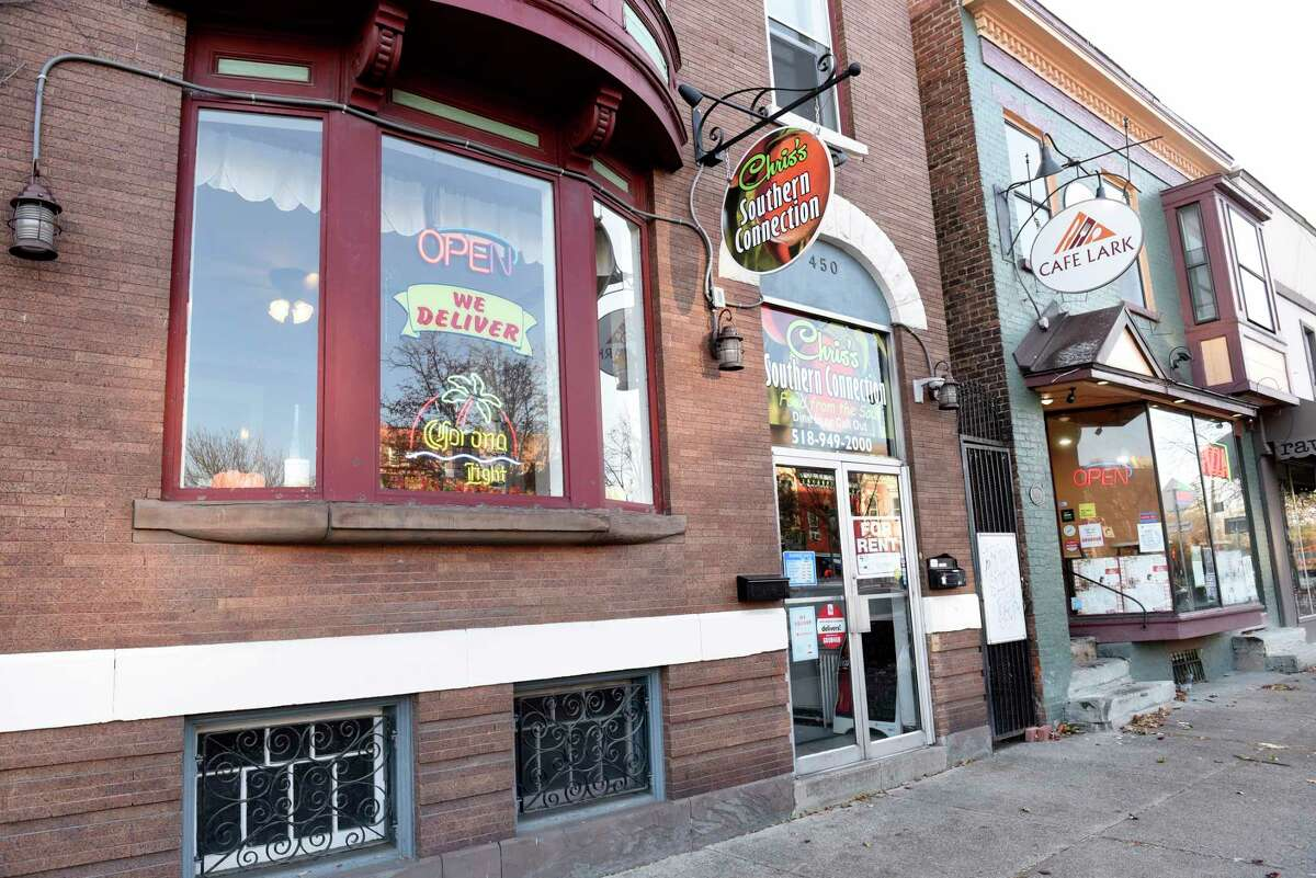 Exterior of Chris's Southern Connection on Madison Ave. on Wednesday, Nov. 13, 2019 in Albany, N.Y. (Lori Van Buren/Times Union)