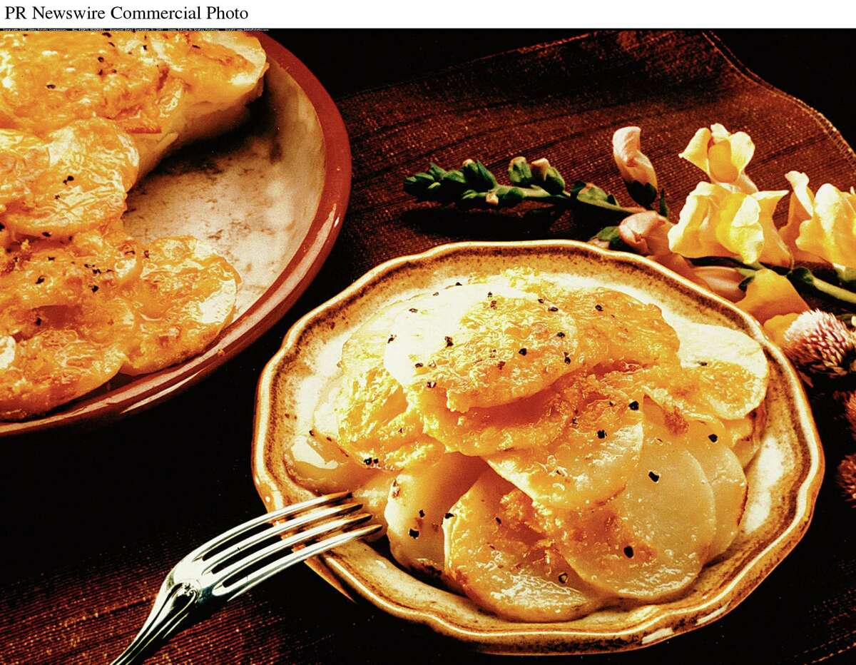 Au-gratin potatoes are a holiday favorite of Innovo Kitchen chef-owner John LaPosta, especially with glazed ham. (Idaho Potato Commission)