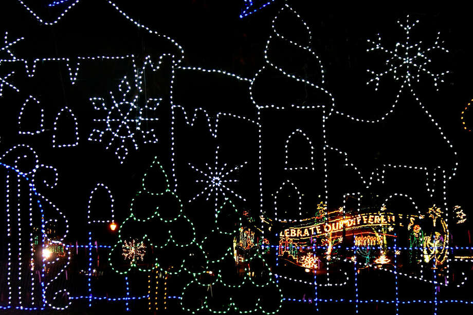 The Annual Price Chopper/Market 32 Capital Holiday Lights in the Park in Albany's Washington Park.
