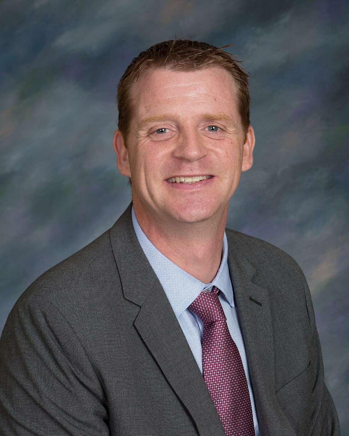 Trumbull High School C House Principal Todd Manuel