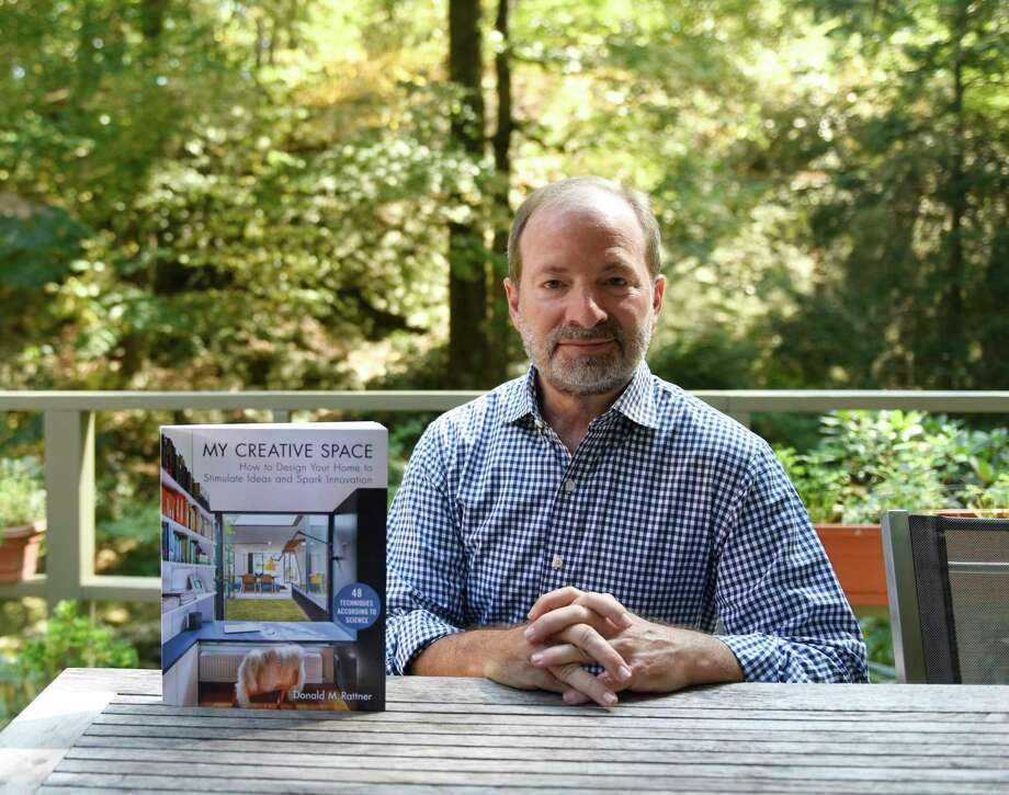 "Architect Donald Rattner will discuss his new book ""My Creative Space"" on Dec. 4 at Wilton Library. Rattner's book provides science-based home design ideas geared boost creativity and stimulate innovation. Photo: Tyler Sizemore / Hearst Connecticut Media / Greenwich Time"