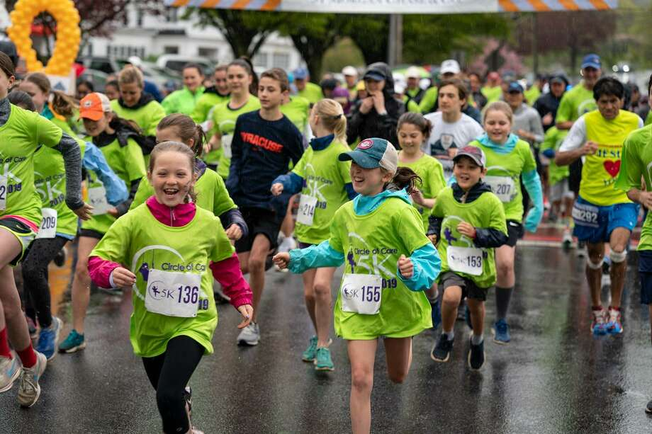 Circle of Care's annual 5K, held in early May, is one of the organization's important fundraisers to be interrupted by the COVID-19 pandemic. Photo: Jeff Salguero / Circle Of Care / Wilton Bulletin