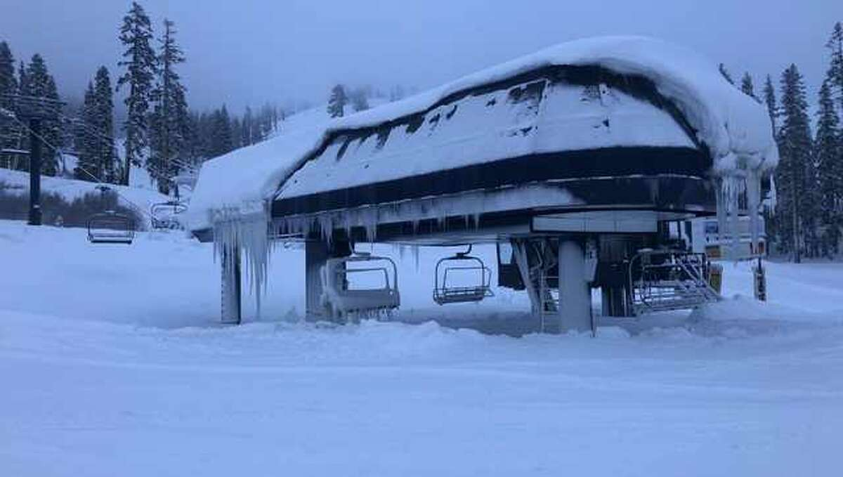A couple of feet of new snow have kicked off the ski season in the Sierra.