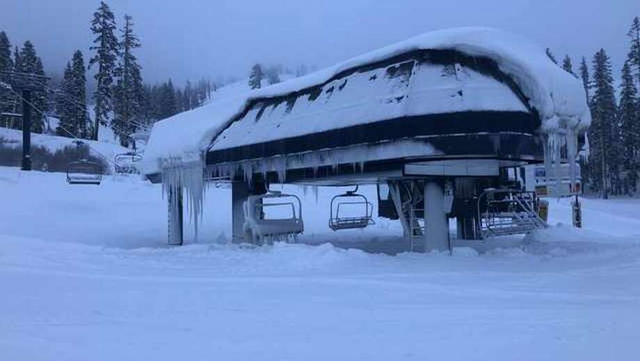 A couple of feet of new snow have kicked off the ski season in the Sierra. Photo: KCRA