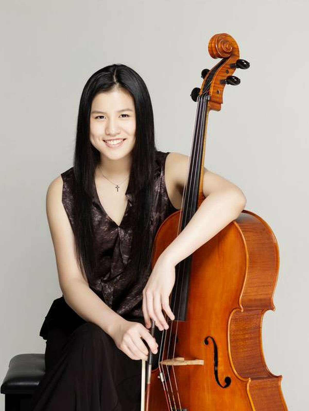 The Women's Forum of Litchfield welcomes Yale music students, cellist Yun Han, above, and pianist Yun Janice Lu for a concert of holiday music at St. Michael's Parish, 25 South St., Litchfield, on Dec. 5.