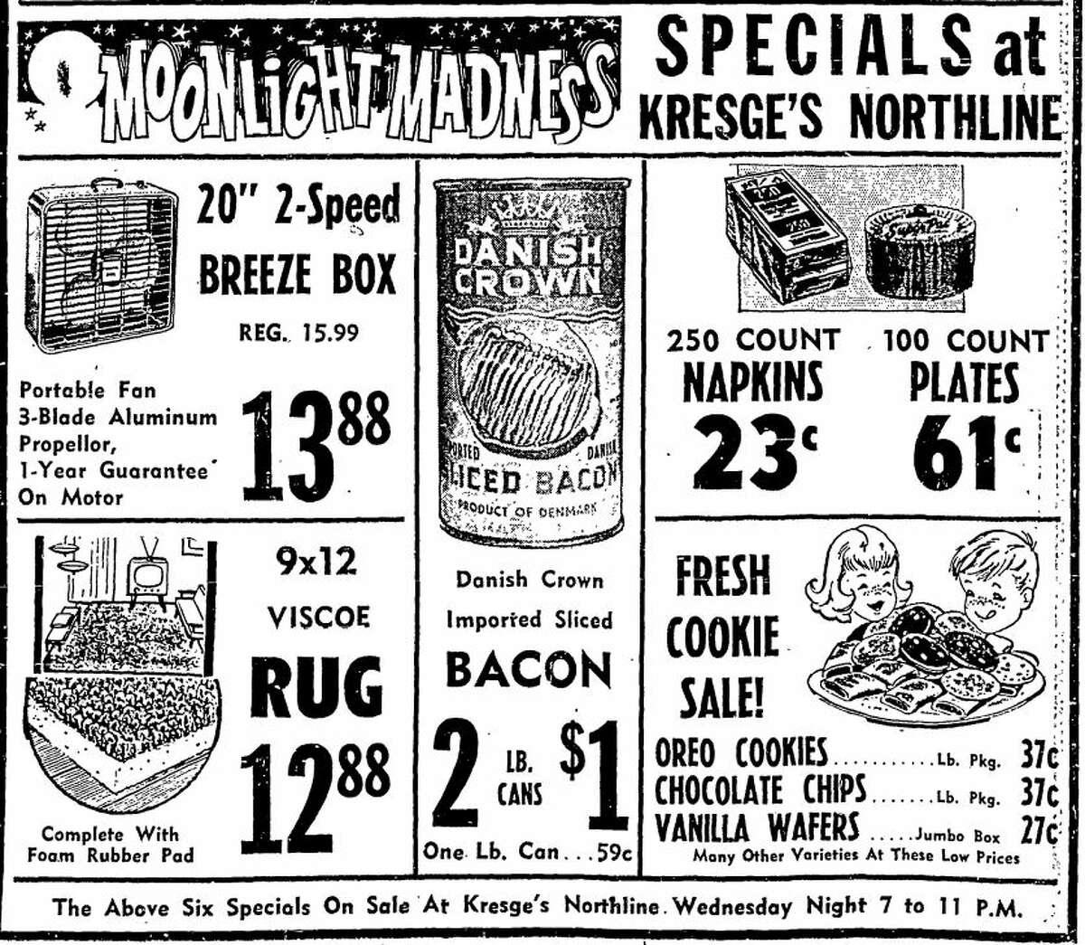 S.S. Kresge ad, 1964