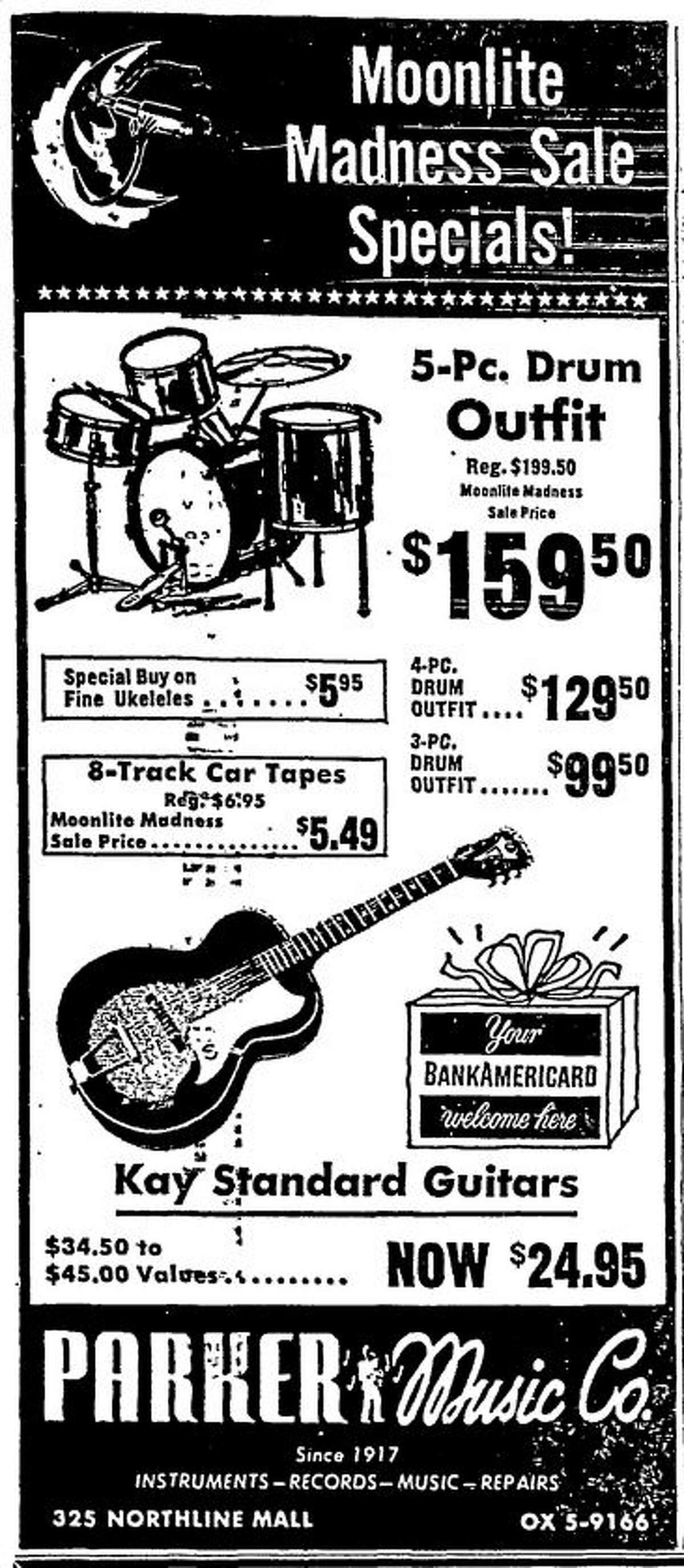 Parker Music ad