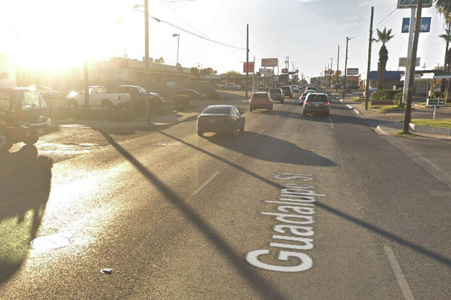 The crash with injuries was reported at about 9:46 p.m. Wednesday in the 1900 block of Guadalupe Street. Photo: Google Maps/Street View