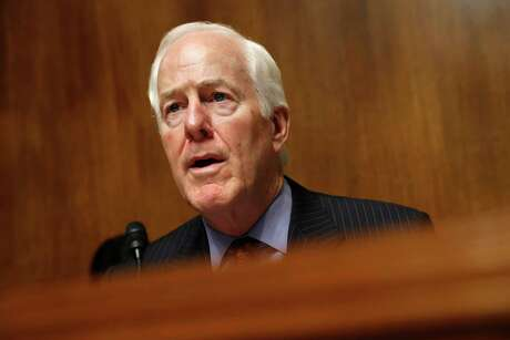 Sen. John Cornyn, R-Texas, is pushing for additional NADBank funding through the U.S.-Mexico-Canada trade agreement, which needs congressional approval.