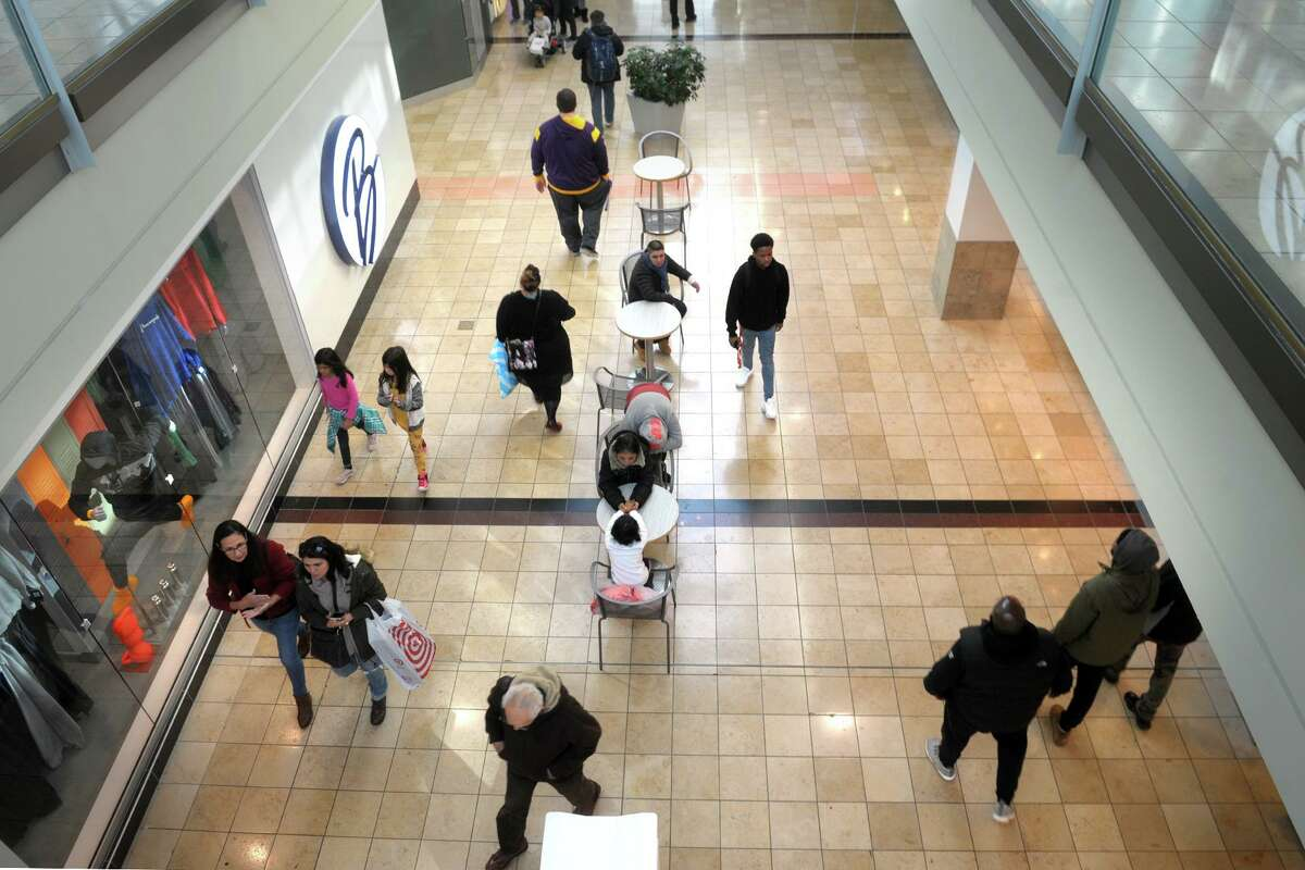 Black Friday shopping at Connecticut Post Mall, in Milford, Conn. Nov. 29, 2019.
