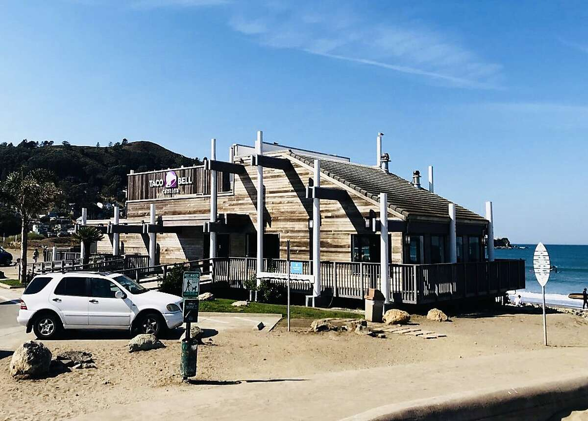 The oceanside Taco Bell in Pacifica was built in the 1960s, and was recently rebranded as a Taco Bell Cantina.