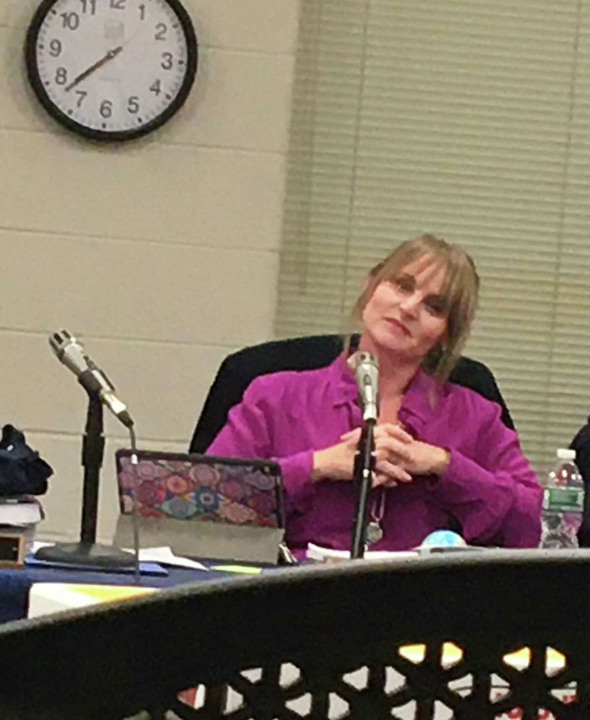 East Haven Board of Education Chairwoman Michele DeLucia