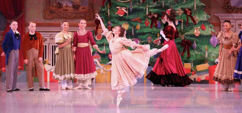 """""""The Nutcracker"""": The Sugar Plum Fairy, the Mouse King and all the other much-loved holiday characters return to the Tobin Center for the Performing Arts next weekend, courtesy of Ballet San Antonio's annual staging of """"The Nutcracker."""" Easton and Haley Smith choreographed the production. The San Antonio Symphony will perform the score. Opens Friday. 7:30 p.m. Fridays, 2 and 7:30 p.m. Saturdays and 2 p.m. Sundays — with an additional performance at 7:30 p.m. Dec. 8 — in the H-E-B Performance Hall, Tobin Center for the Performing Arts, 100 Auditorium Circle. $35 to $129 at the box office, by calling 210-223-8624 or online at tobi.tobincenter.org. — Deborah Martin Photo: Amitava Sarkar /"""
