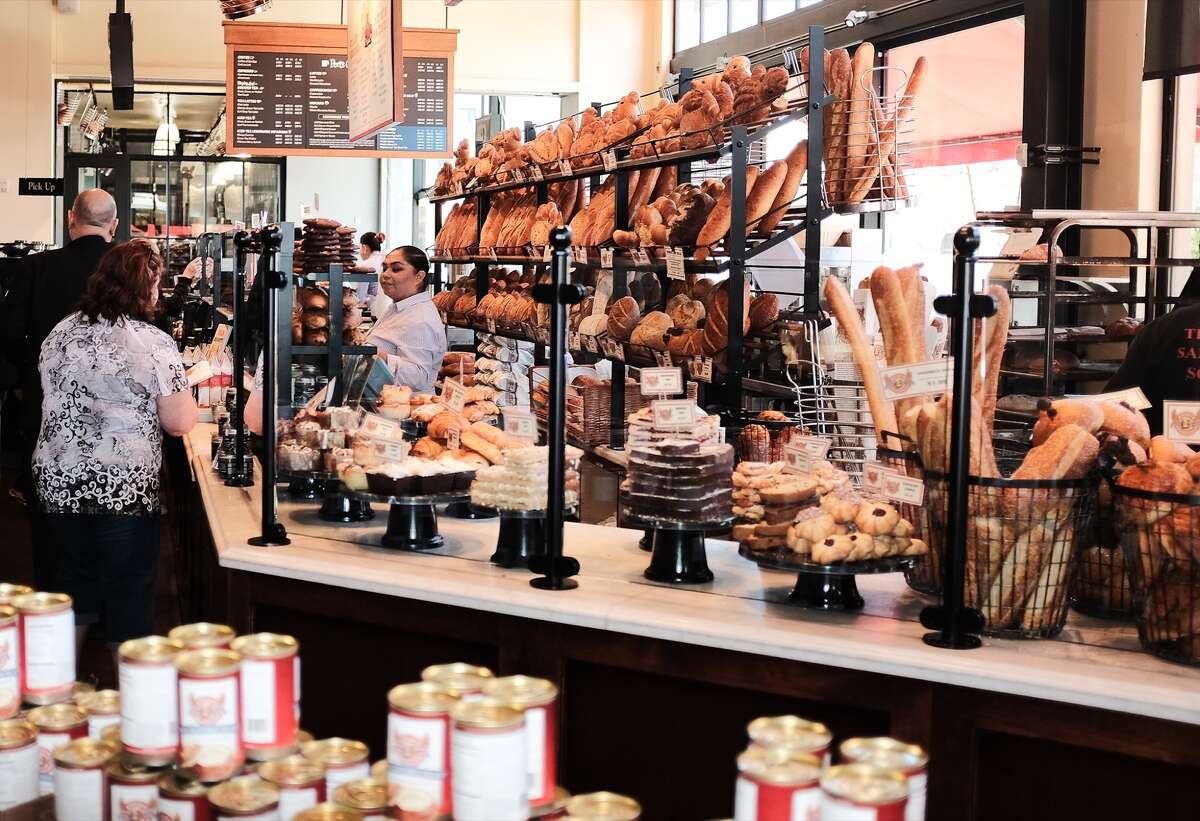 Boudin at the Wharf is a great place to pick up San Francisco's signature sourdough bread.