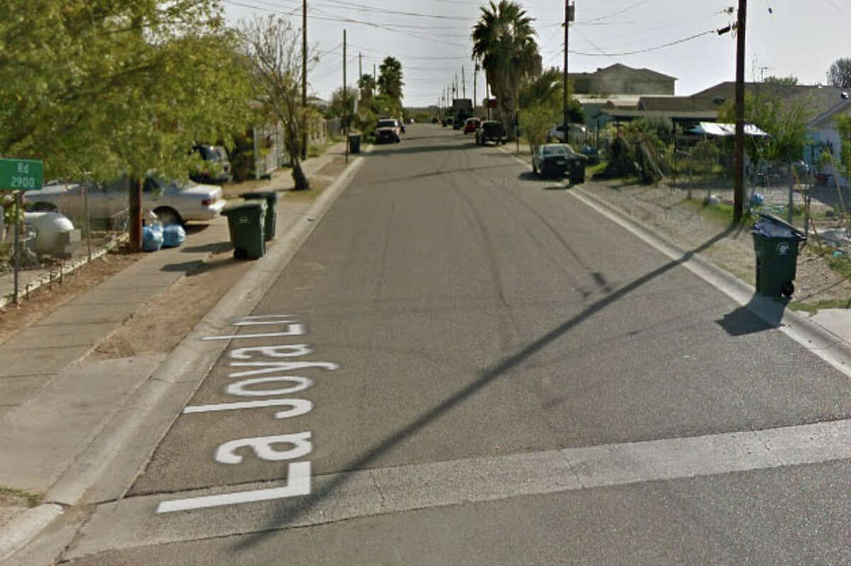 Laredo police responded to a report of a man with a gunshot wound at about 4:58 a.m. in the 4500 block of La Joya Lane.