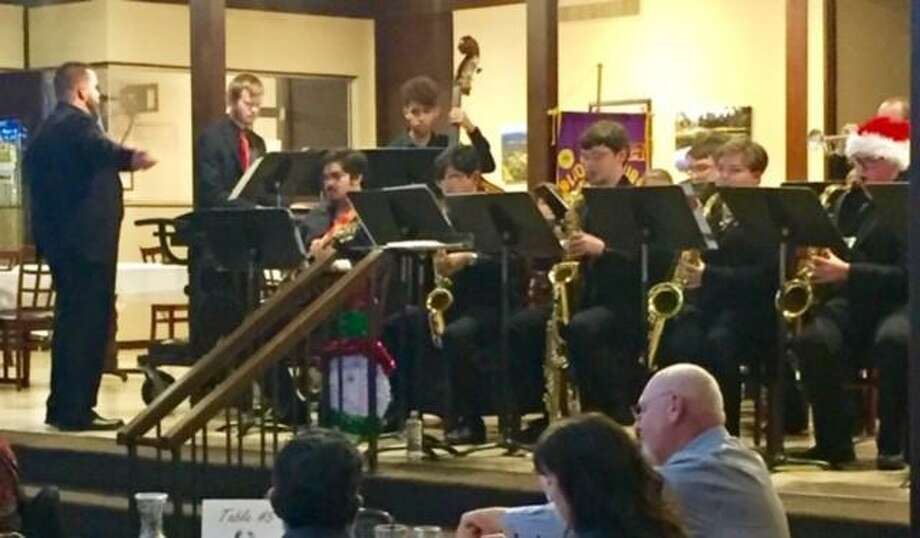 Director Andrew Hicks and the Willis High School Jazz Ensemble will perform on December 10 at the Panorama Golf Club. Photo: Courtesy Photo