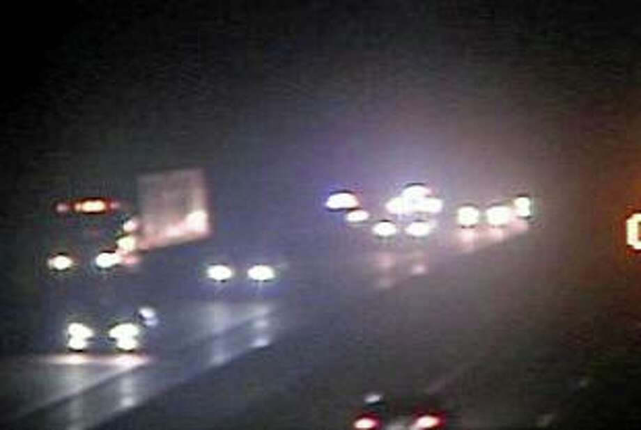 A CTDOT traffic camera screengrab from Exit 56 in Guilford, Conn. Photo: Contributed Photo
