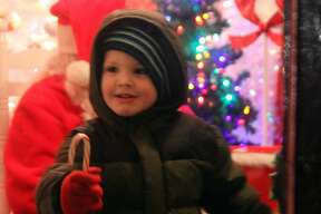 The Pigeon Town Lighting Celebration drew quite a crowd as people gathered to take pictures with Santa Claus, try homemade chili, take carriage rides and observe the lighting of trees on Friday, Nov. 29.