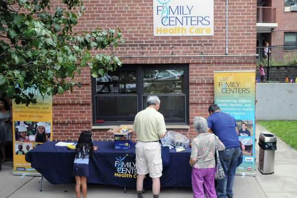 The Family Centers Health Care Fair. The Giving Fund supports some of the clients from Family Centers.
