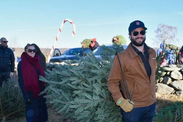 Christmas tree shoppers flocked to Jones Family Farm in Shelton on November 30, 2019. Were you SEEN?