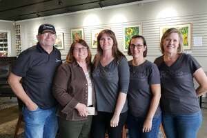 Robert and Debbie Kirk, owners of Higher Grounds Coffee Shop, Kristen Covington, Sari Smith and Jeannie Eads, owners of Found Furnishings, participated in last year's Small Business Saturday Pop-up.
