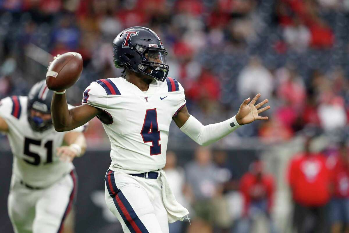 HOUSTON'S TOP HIGH SCHOOL FOOTBALL RECRUITS FROM CLASS OF 2021 Jalen Milroe, QB, TompkinsCommitted to Texas