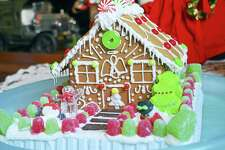 Students in grades 6-9 are invited to decorate a gingerbread house on Dec. 10 at Wilton Library.