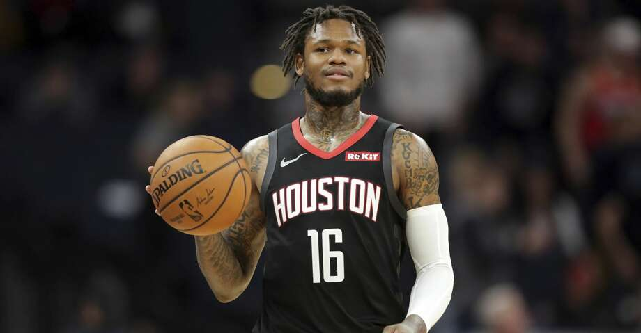 PHOTOS: Rockets vs. Raptors Houston Rockets guard Ben McLemore plays against the Minnesota Timberwolves during a basketball game Saturday, Nov. 16, 2019 in Minneapolis. (AP Photo/Andy Clayton- King) >>>See photos from the Rockets' win over the Raptors on Thursday ... Photo: Andy Clayton-King/Associated Press