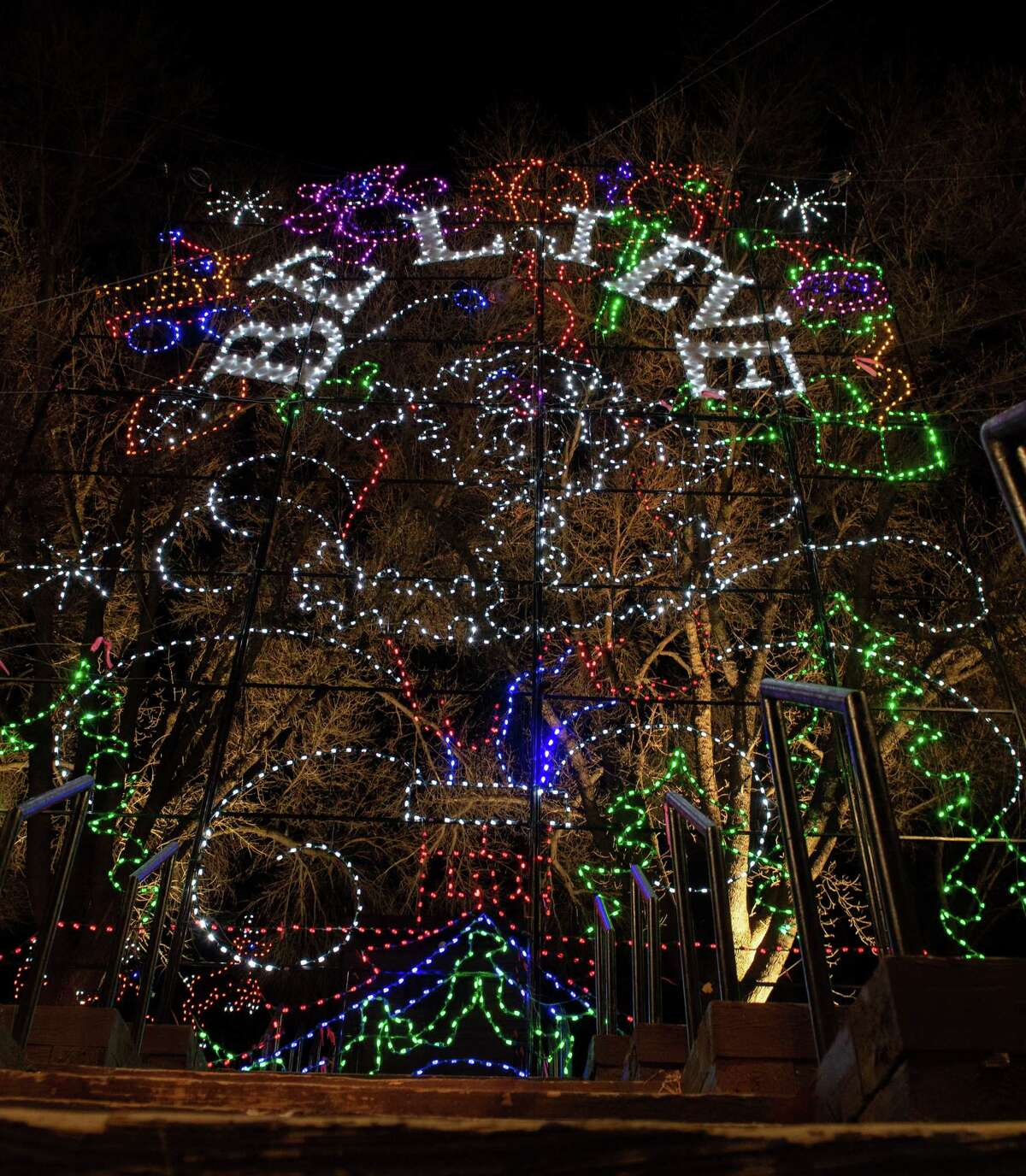 The 23rd Annual Price Chopper/Market32 Capital Holiday Lights in the Park officially opened on Friday Nov. 29 and runs through Jan. 3, 2020. All proceeds benefit the Albany Police Athletic League programs. (Jim Franco/Special to the Times Union.)