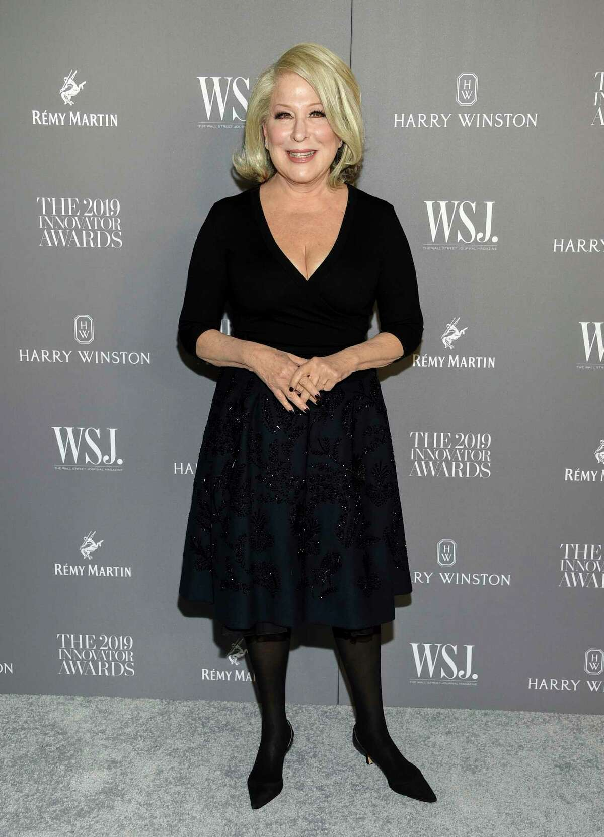 Singer Bette Midler attends the WSJ. Magazine 2019 Innovator Awards at the Museum of Modern Art on Wednesday, Nov. 6, 2019, in New York. (Photo by Evan Agostini/Invision/AP)
