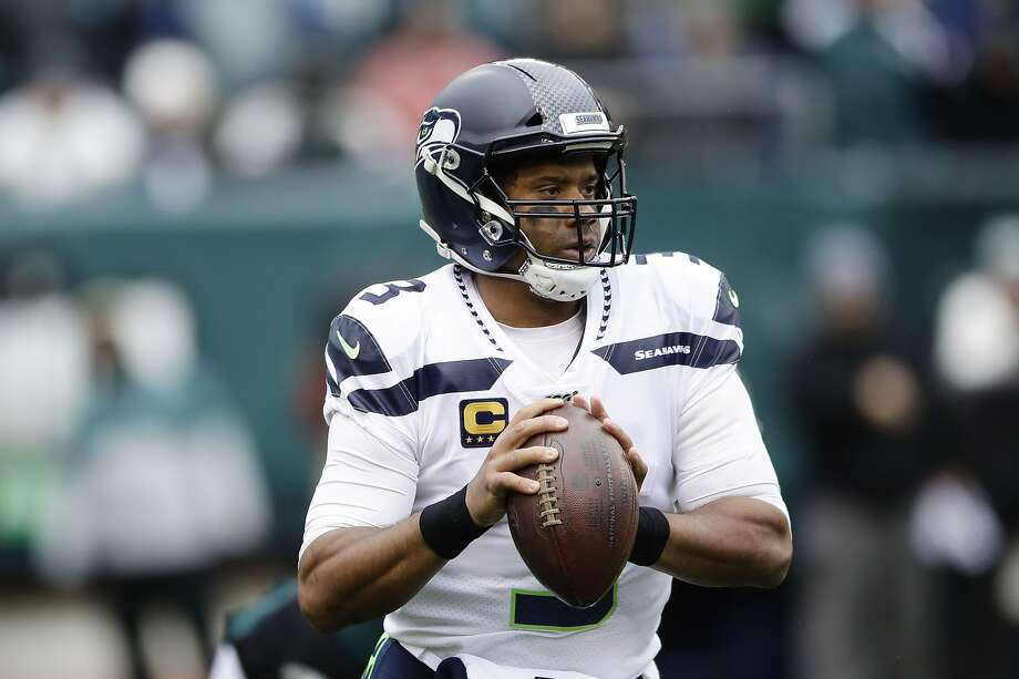 The Vikings visit Russell Wilson and the Seahawks at 5:15 p.m. Monday (ESPN). Photo: Matt Rourke / Associated Press