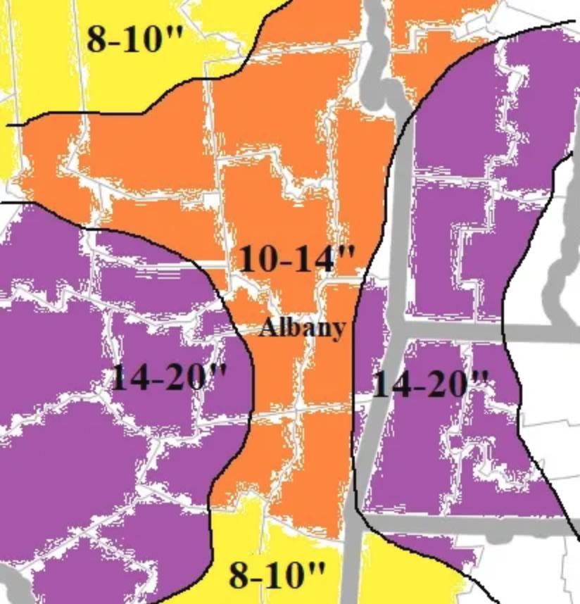 Jason Gough's forecast: Here comes the snow