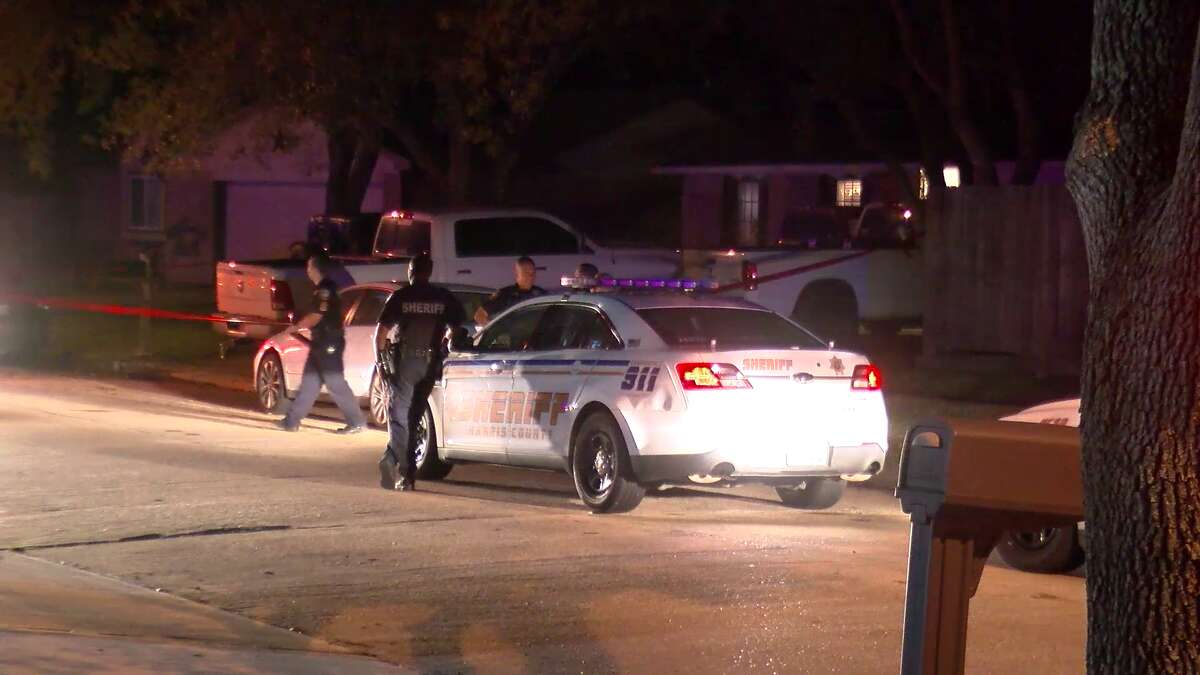 A juvenile is in custody after a young man and woman were shot at a deadly shooting at a house party in Katy, deputies say.