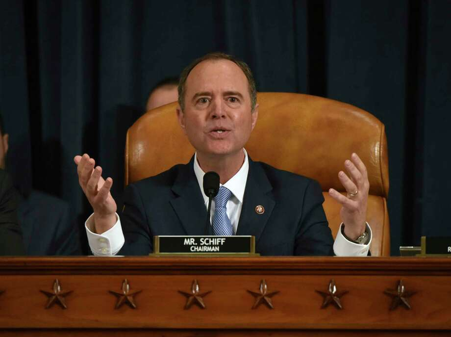 Rep. Adam Schiff, D-Calif), chair of the House Intelligence Committee, on Nov. 21. Photo: Washington Post Photo By Bill O'Leary / The Washington Post