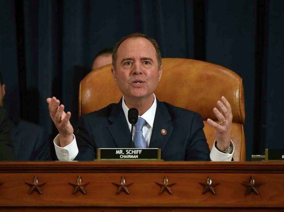 Rep. Adam Schiff, D-Calif), chair of the House Intelligence Committee, on Nov. 21. Photo: Washington Post Photo By Bill O'Leary / The Washington Post