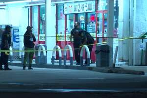 Police were investigating a fatal shooting Saturday evening outside a convenience store in southwest Houston.