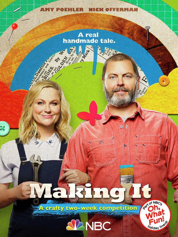 "MAKING IT -- Pictured: ""Making It"" Key Art -- (Photo by: NBC) Photo: NBC / 2019 NBCUniversal Media, LLC"
