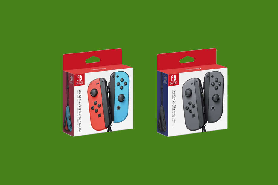Nintendo Switch Joy-Cons are $20 off on Amazon for a limited time. Photo: Amazon/SFGATE