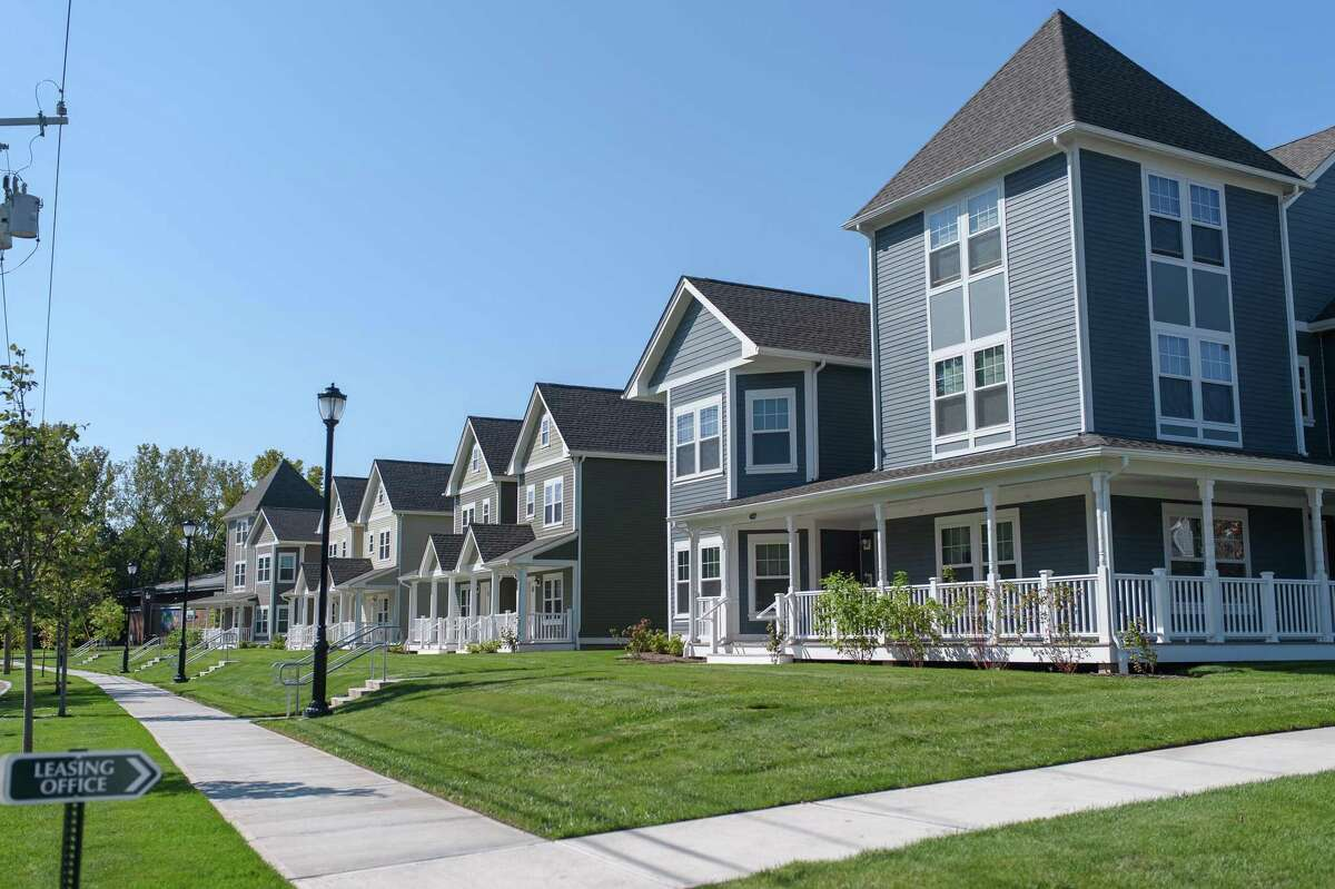 The Willow Creek development in Hartford's North End in Hartford.