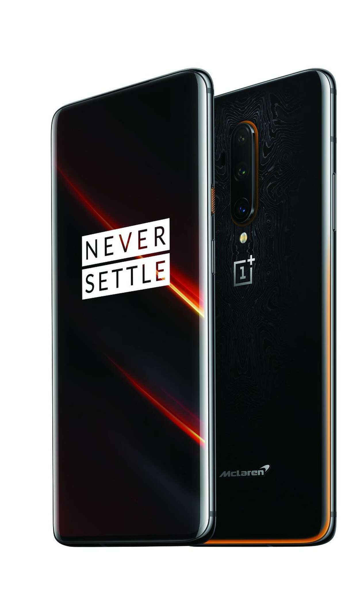The OnePlus 7T Pro 5G McLaren is one of two phones that will work on T-Mobile's new 5G network.