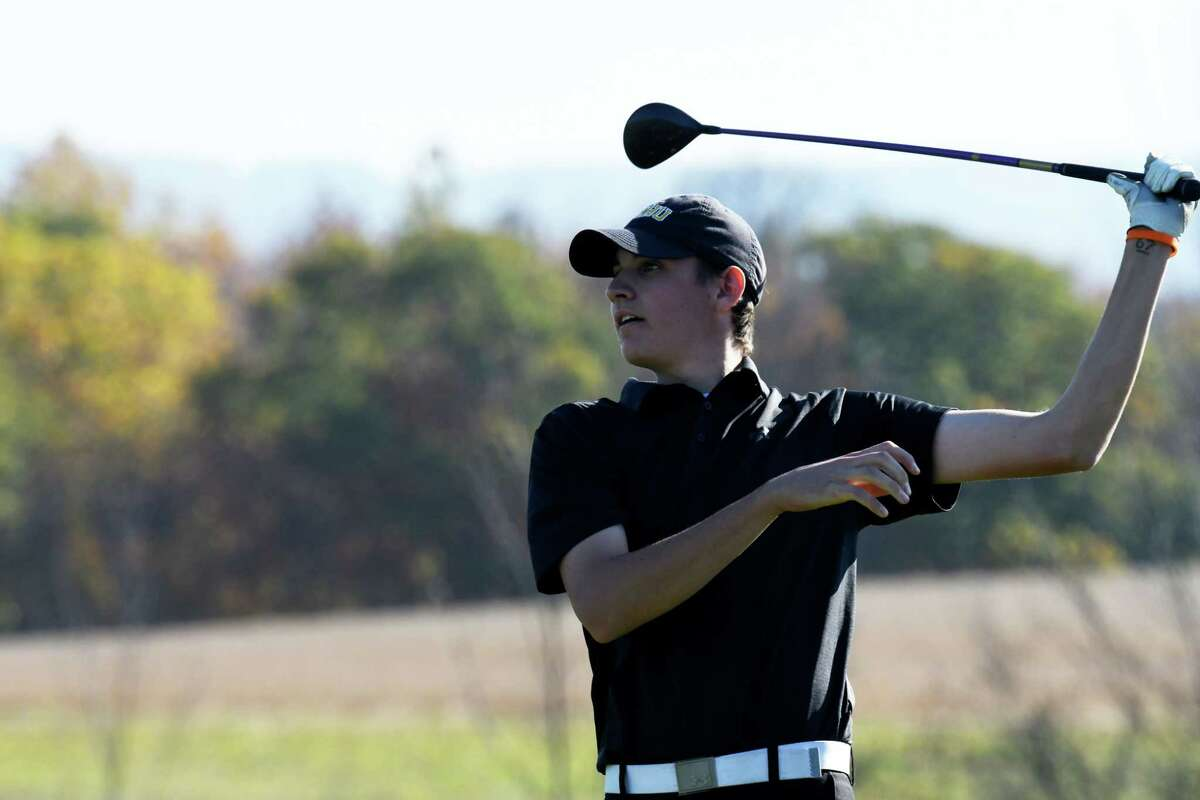Boys' golf: A.J. Cavotta of Saratoga Springs. Read more.