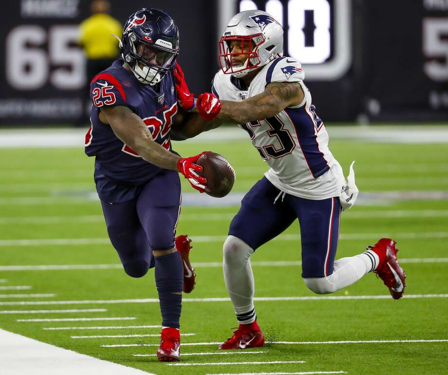 Eight Is Enough Texans Finally Take Down Patriots Houston