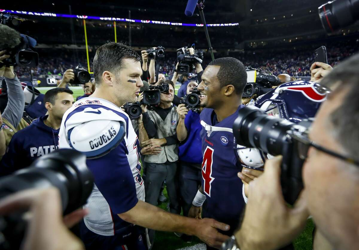 After leaving New England, Tom Brady is one win away from another Super Bowl. Brady's former teammate Ted Johnson says life without a generational quarterback like Deshaun Watson is not something the Texans want to experience.